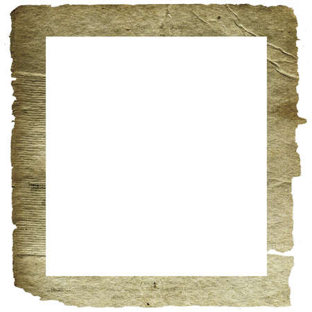 rifts: decorative frame from old paper