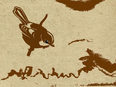 rifts:  grunge background Illustration