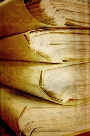 paper on grunge background photo