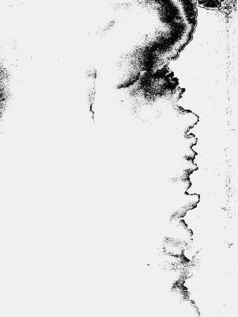 degraded: grunge background, vector illustration