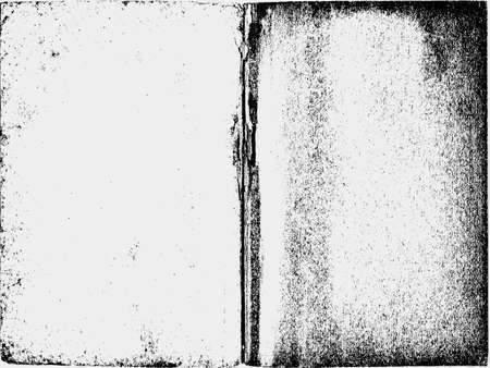 spoil: old paper texture, vector illustration Illustration
