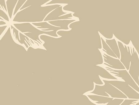 rifts: wood sheet silhouette on brown background, vector illustration