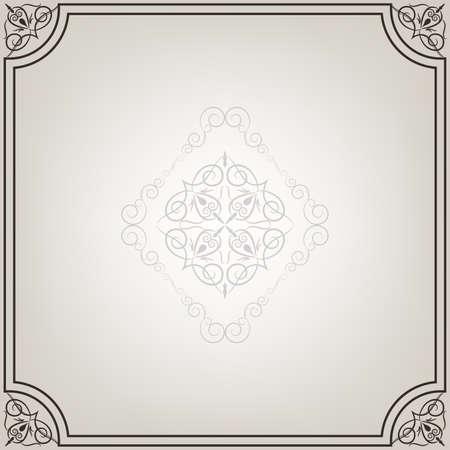 Floral frame Stock Vector - 16649119