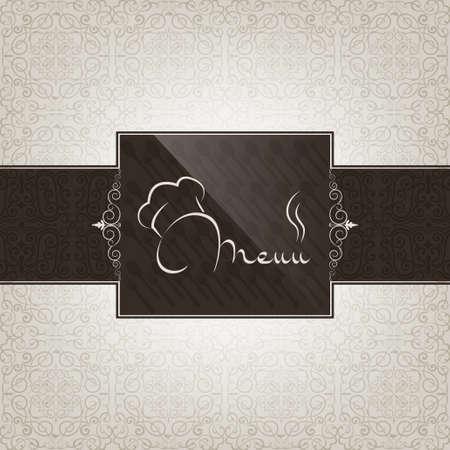 animal logo: Restaurant menu