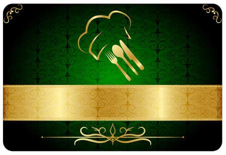 logos restaurantes: Restaurante tarjeta