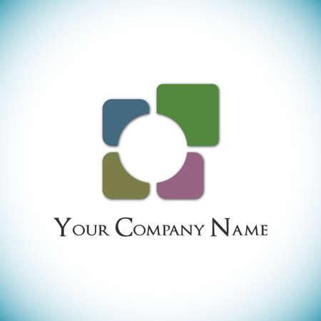 Checkered logo Stock Vector - 16974048
