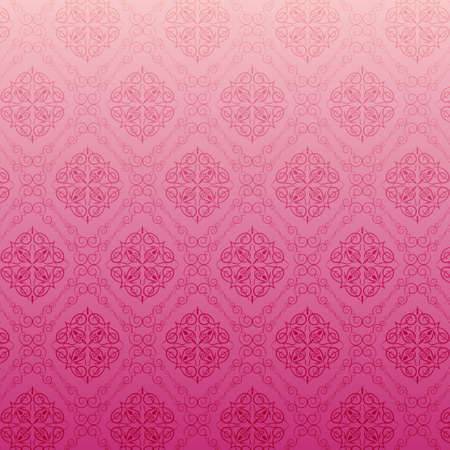 Pink floral texture Vector