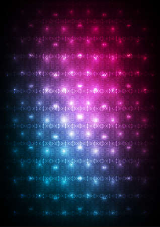 Abstract blue-purple digital background Stock Vector - 17254166
