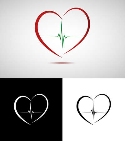medical drawing: Medical heart