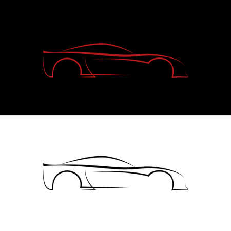 modify: Red and black car logos