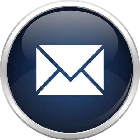 esfera de cristal: Esfera de cristal y el icono de correo