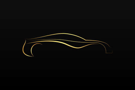 automobile industry: Golden car logo