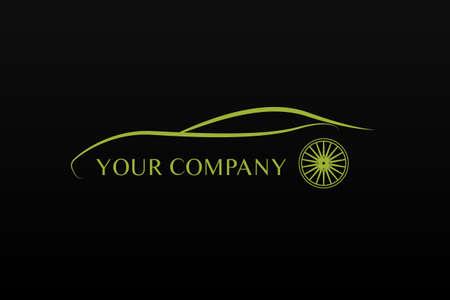 charismatic: Green car logo