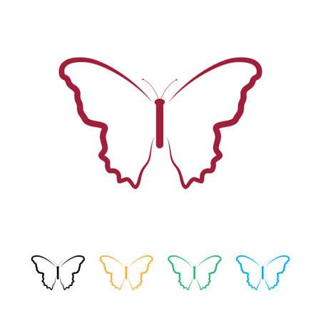ButterFly logo Stock Vector - 20722744