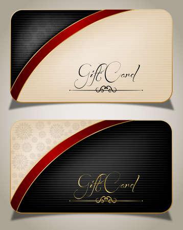 visitekaartje: Abstracte Gift Card