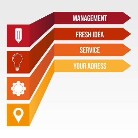 mechaninc: Infographic design template