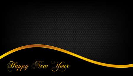 Creative new year celebrate card