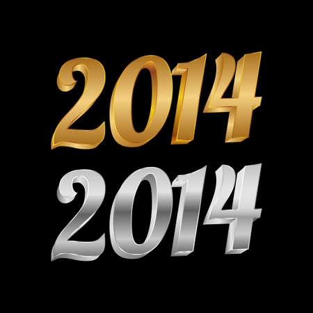 twenty thirteen: Golden and silver 3D 2014