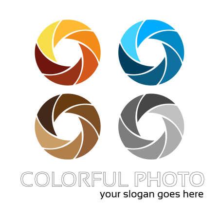 hotshot: Creativo fotografo s logo di lavoro