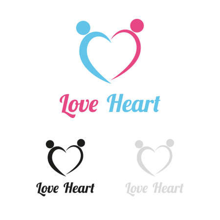unify: Love heart logo