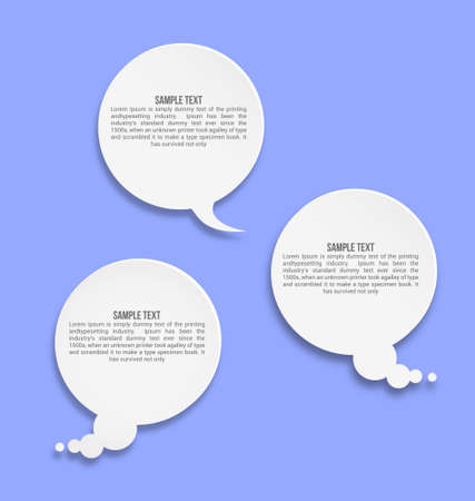 Infographic option elements Vector