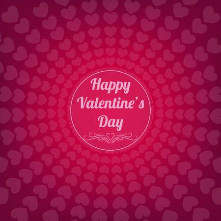 valentine s day: Happy valentine s day card
