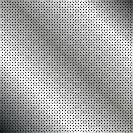 car grill: Metallic texture Illustration