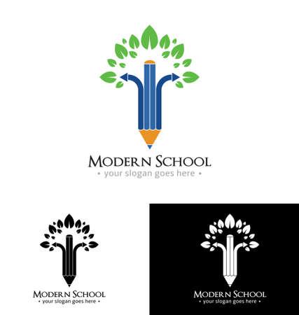 graduated: Modern school icon template