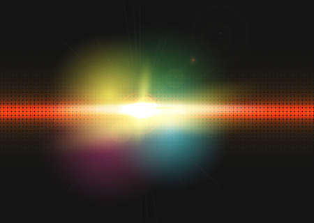 raytrace: Abstract lighting vector background