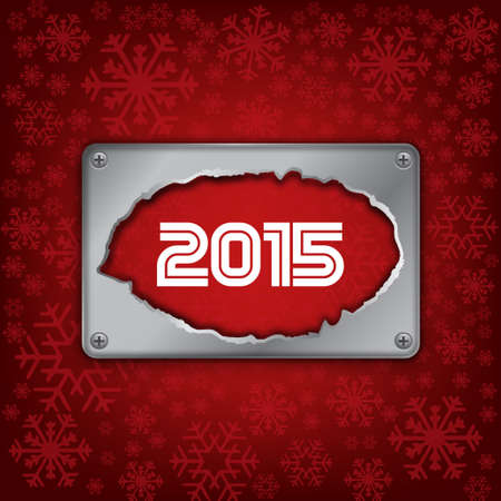 2015 Happy new year card