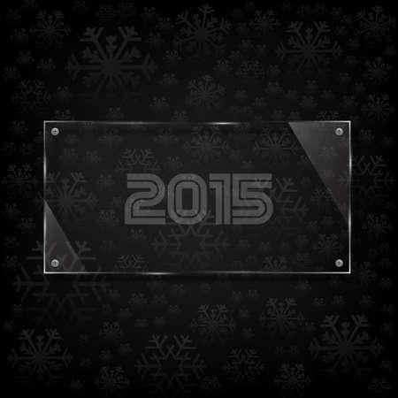 twenty thirteen: 2015 Happy new year card