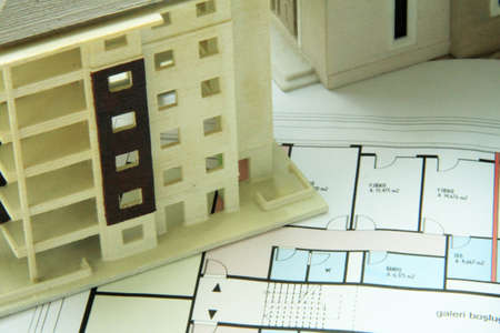 paper art projects: Architecture background
