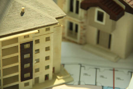 paper art projects: Architecture background. projects and results