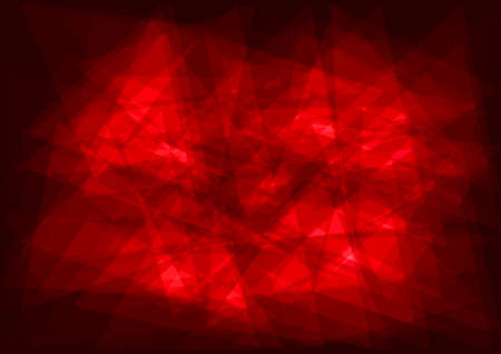 red abstract vector background Illustration