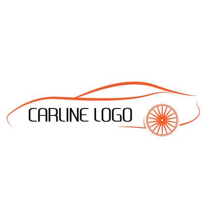 logos de voiture calligraphiques