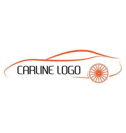 insignias del coche caligráficas