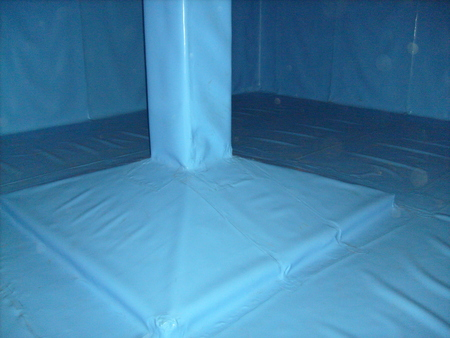 isolation tank: Insulation of concrete water tank
