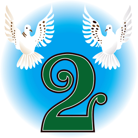 days: 12 Days of Christmas. Can also be used to learn how to count. See all 12 cards.