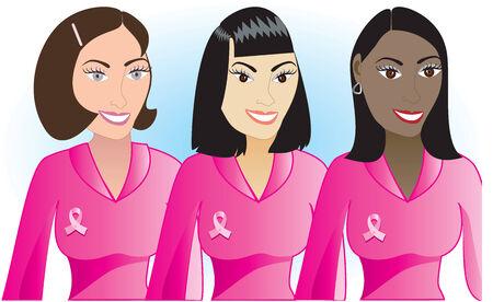 Afbeelding voor borstkanker bewustzijn maand.