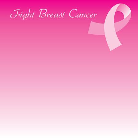 Illustration pour le mois de sensibilisation du cancer du sein. Arrière-plan peut être utilisé pour le web ou imprimer. Cartes, modèle, arrière-plan, brochure, affiche, flyer, dépliant, etc.. Police de Gabrielle utilisé.  Banque d'images - 5659401