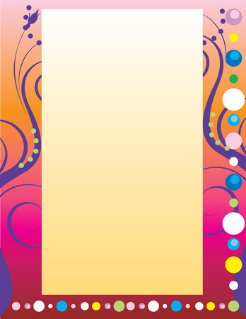 Illustration of abstract party like background. There is room for text andor logo in center. 일러스트