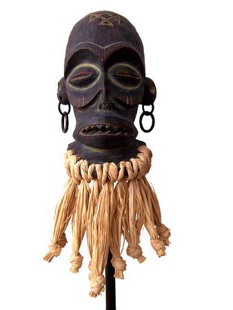 African Art Sculpture Stock Photo