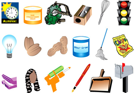 Illustration of Inventions for black history month. Also available with names.