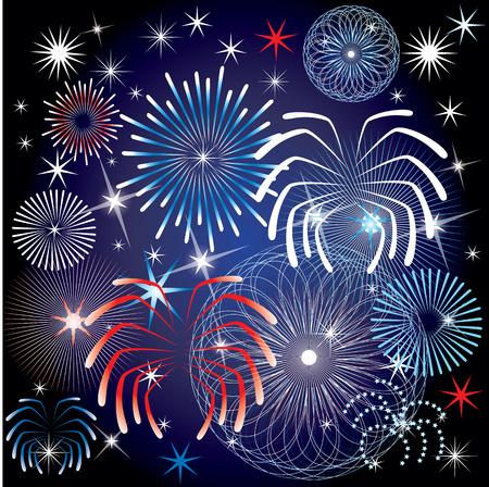 celebration: 4th of July Independence Day Background.  Illustration