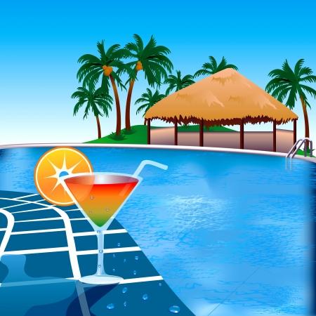 Pool Side Invitation