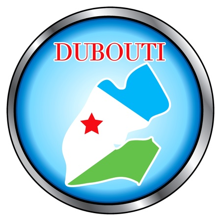 Vector Illustration for the country of Dubouti Round Button. Stock Vector - 11973669