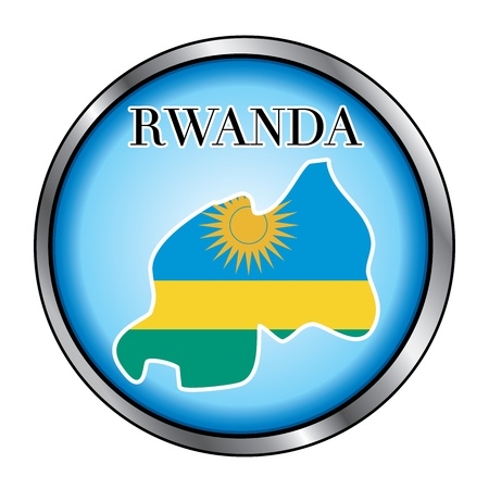 Vector Illustration for the country of Rwanda Round Button. Stock Vector - 12025983
