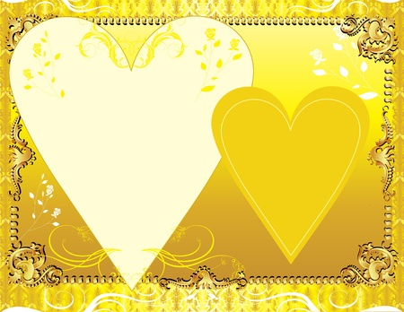 royal person: Illustration. A template background for greeting card or invitation. May add photo andor text.