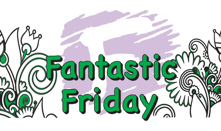 Vector Illustration of the Fantastic Friday Days of the Week