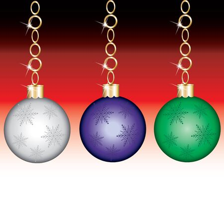 Vector Illustration of a Ornament Set with background. Illustration